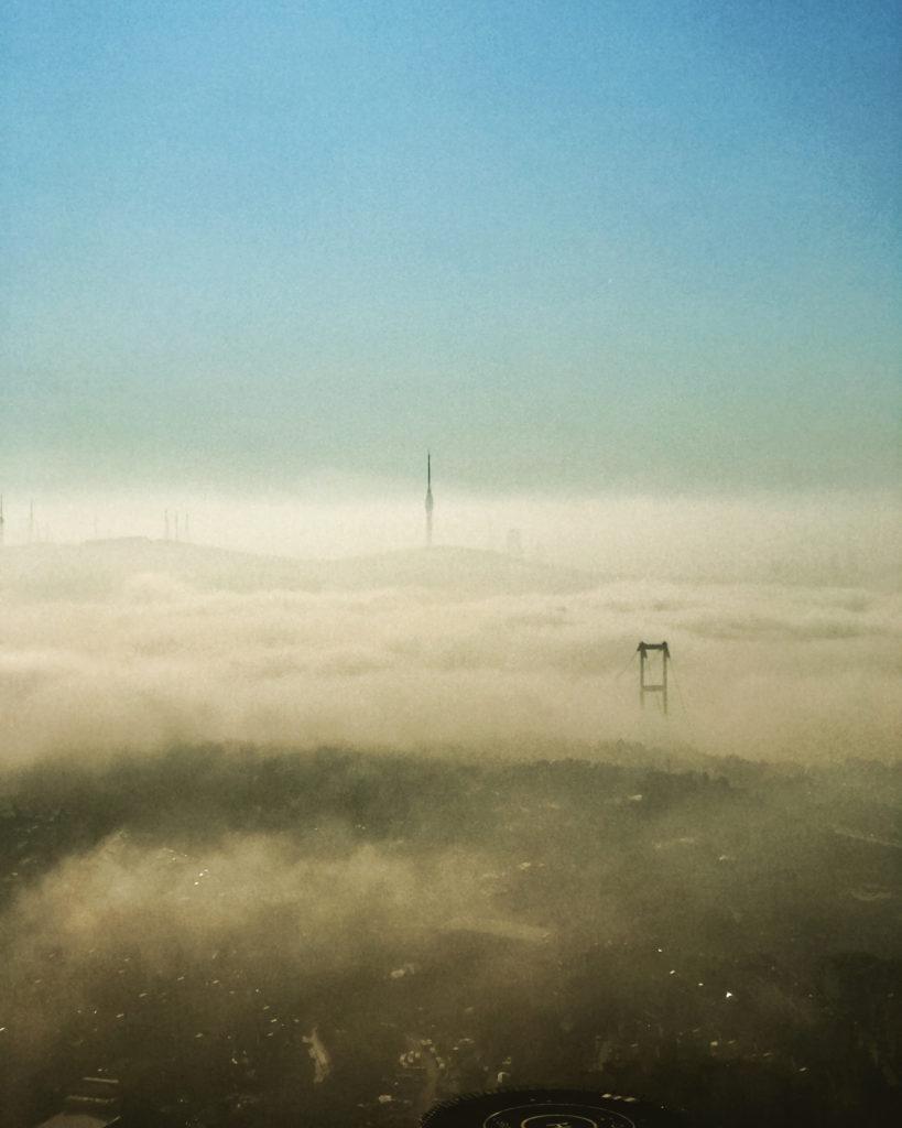 Istanbul in Clouds
